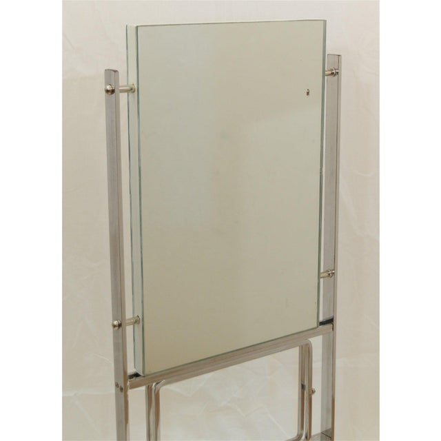 Art Deco Double-Sided Deco Display Mirror For Sale - Image 3 of 7