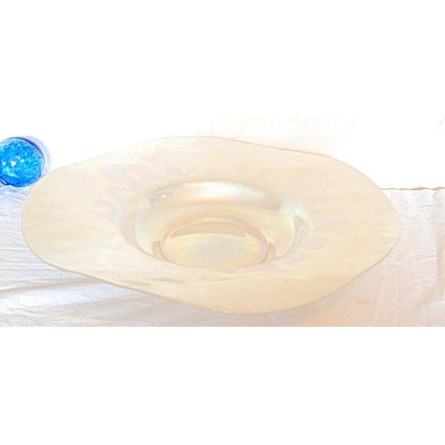 Iridescent Glass Bowl & Glass Balls - Image 5 of 9