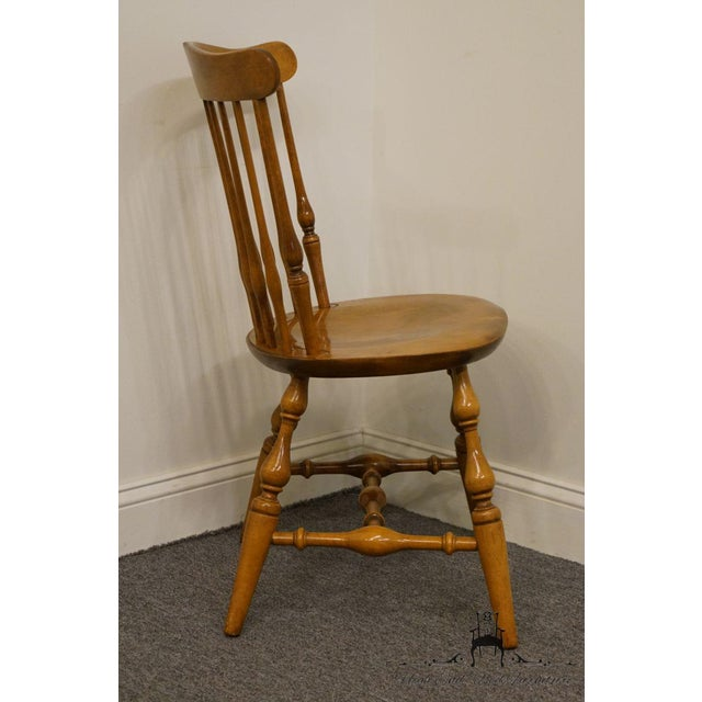 Nichols & Stone Gardener MA Old Pine Side Chair For Sale - Image 9 of 13