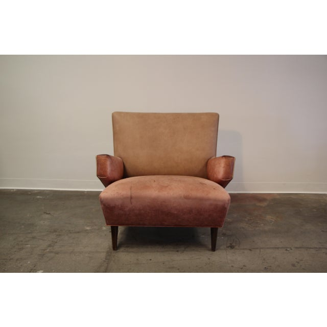 1950s Vintage Jens Risom for Knoll Custom Lounge Chair For Sale - Image 13 of 13