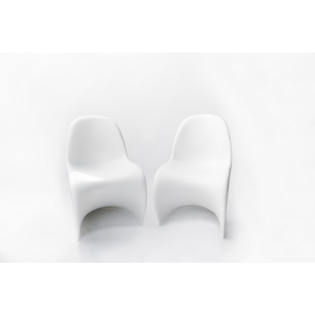The Panton Chairs for Vitra - a Pair For Sale - Image 11 of 11