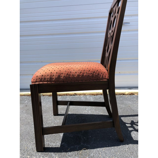 Chippendale Style Dining Chairs - Set of 10 For Sale - Image 9 of 13