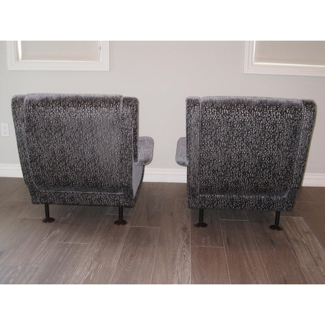 1960s Marco Zanuso Regent Italian Lounge Chair - a Pair For Sale - Image 5 of 12