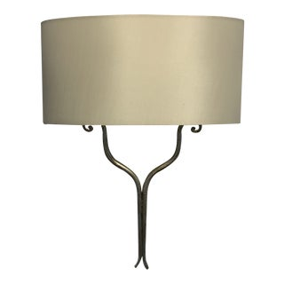 Curry & Company Winchester Sconce With Shade For Sale
