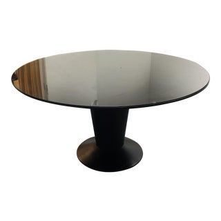 Artefacto Round Glass Top Dining Table