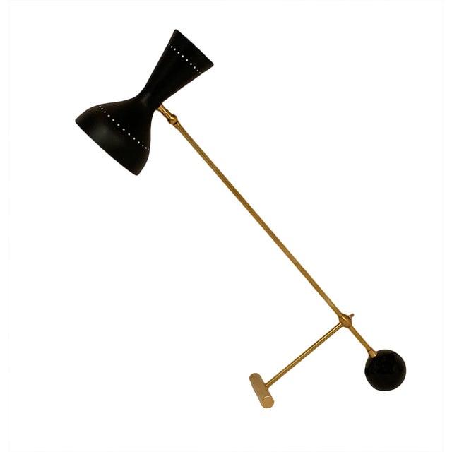 Metal Stilnovo Style Vintage Desk Lamp For Sale - Image 7 of 7