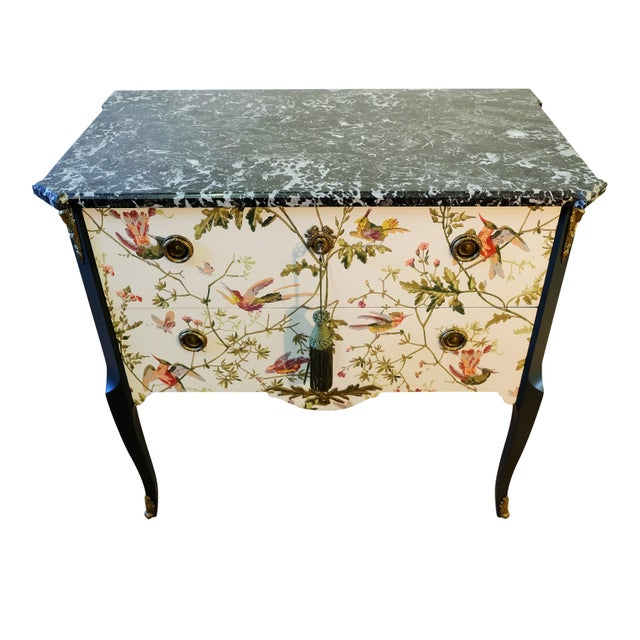 Cream 1920s Louis XV Style Chest Of Drawers For Sale - Image 8 of 12