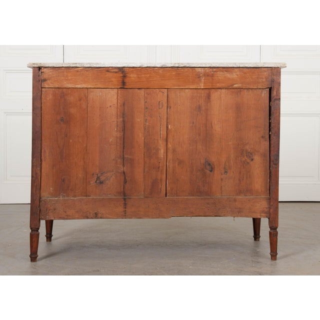 Early 19th Century French Mahogany and Walnut Louis XVI-Style Commode For Sale - Image 9 of 10