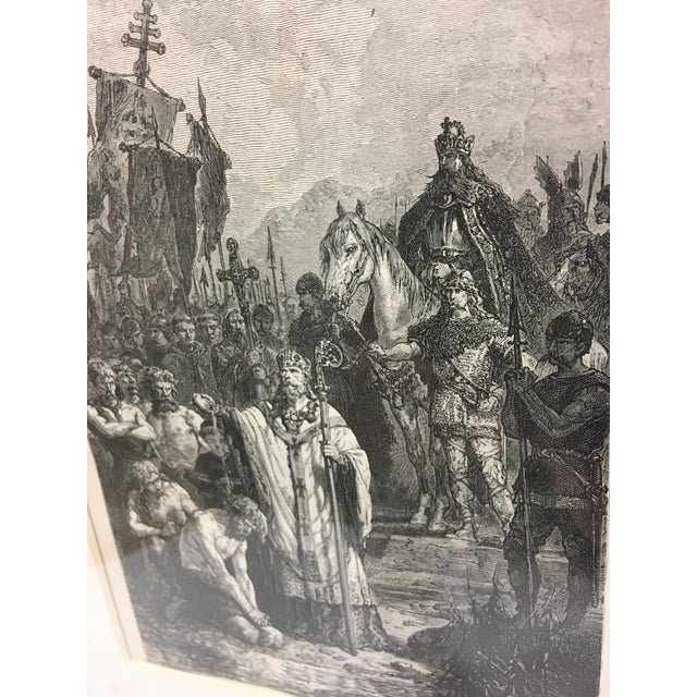 19th Century Book Biblical Story Etching For Sale - Image 4 of 4