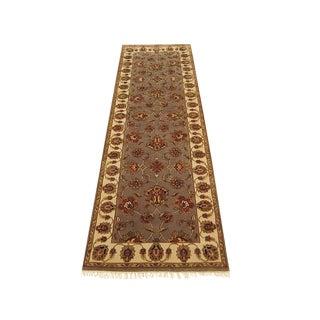 Shiraz - Floral Indian Japur Runner- 2'7''×8'1'' For Sale