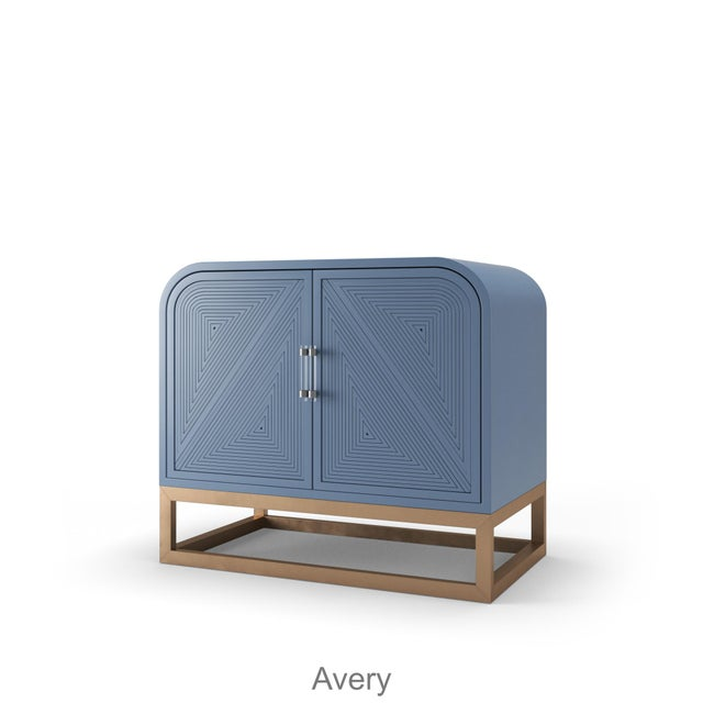 Not Yet Made - Made To Order Avery Credenza - Summer Mist Blue For Sale - Image 5 of 5