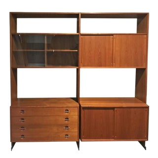Hans Wegner for Ry Møbler Mid Century Danish Wall Unit For Sale