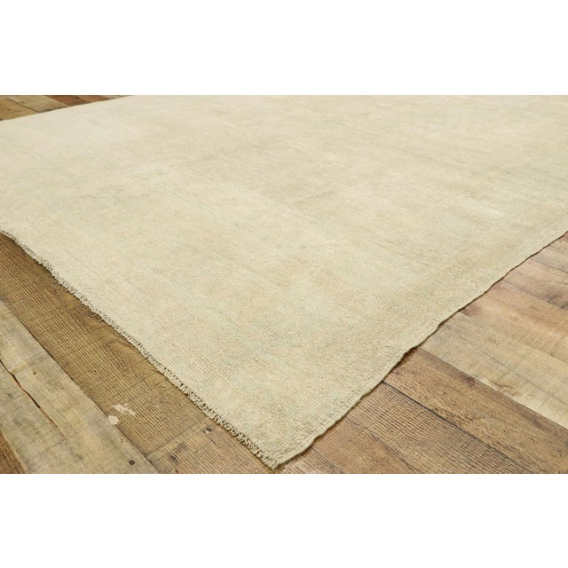 Vintage Turkish Oushak Gallery Rug - 5'08 X 11'03 For Sale In Dallas - Image 6 of 9