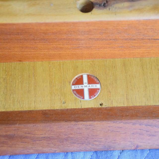 Mid-Century Danish Modern Koford Larsen Era Teak Receiving Desk Bookshelf For Sale - Image 10 of 11