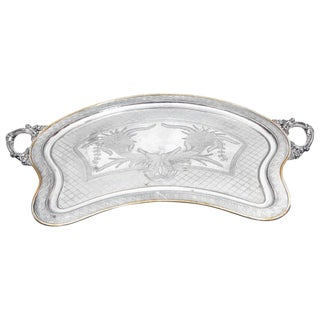 Large Butler Serving Tray For Sale