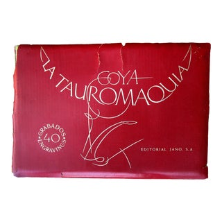 1965 Portfolio La Tauromaquia Bullfight Goya 40 Engravings New York Worlds Fair Limited Edition For Sale