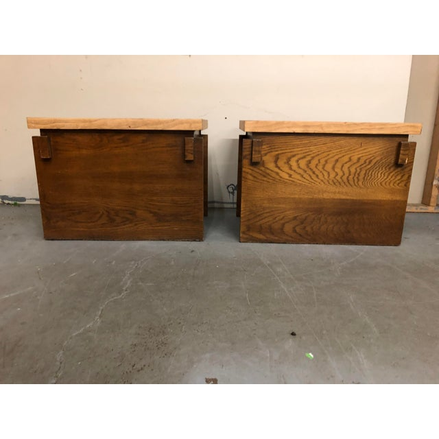 1970s Mid Century Modern Lane End Tables - a Pair For Sale In Philadelphia - Image 6 of 9
