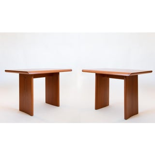 Mid Century Teak Side Tables by Henning Kjaernulf Preview