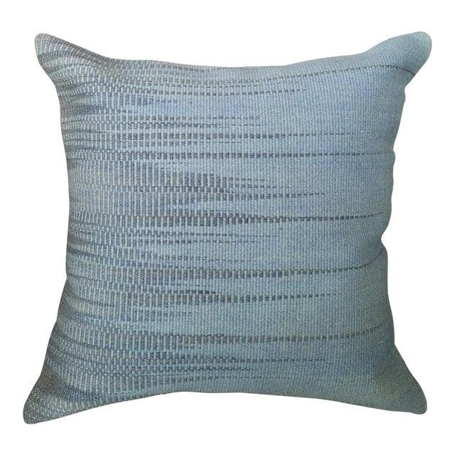 Vintage Geometric Turkish Rug Pillow - Image 1 of 6