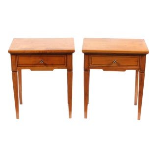 1920s Regency-Style Side Tables, Pair For Sale