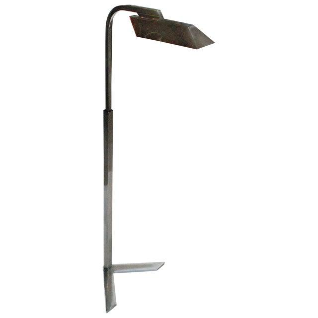 Rare 1973 Signed Charles Hollis Jones Pharmacy Floor Lamp For Sale