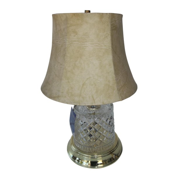 Alsy Lighting Vintage Crystal & Brass Table Lamp - Image 1 of 5