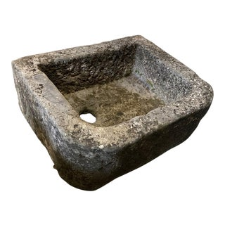 19th Century Bluestone Sink For Sale