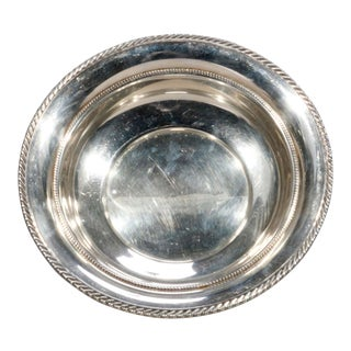 Antique Gorham Sterling Silver Bowl, 8.3 Toz, 20th Century For Sale