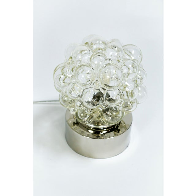 Brass Glass Bubbles Table Lamp For Sale - Image 7 of 14