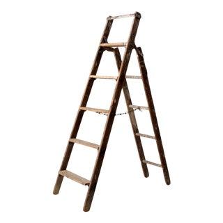 Vintage Wooden Ladder For Sale