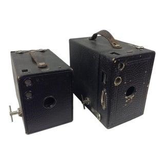 Antique Eastman Kodak Brownie Cameras - a Pair For Sale