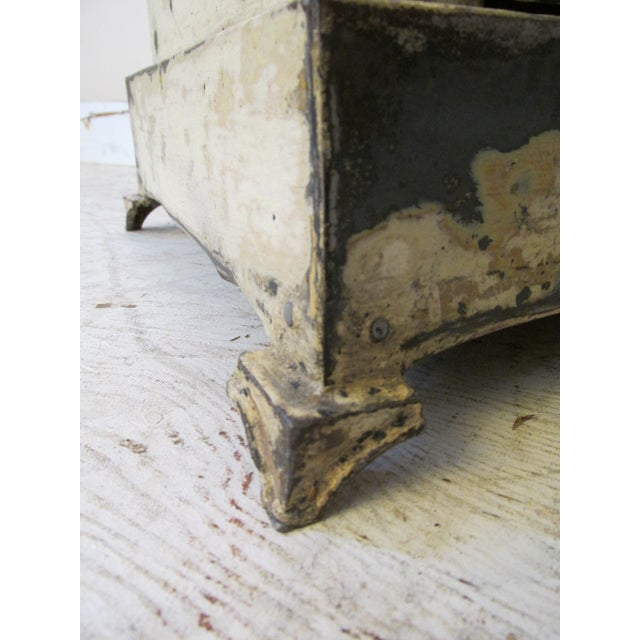 Antique French Shabby Chic Nightstands - A Pair - Image 7 of 10