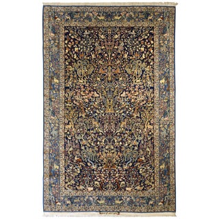 """Exceptional Vintage Isfahan Rug 5'7"""" x 8'9"""" For Sale"""