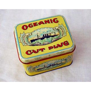 1950s Ocean Cut Plug Tobacco Tin Preview