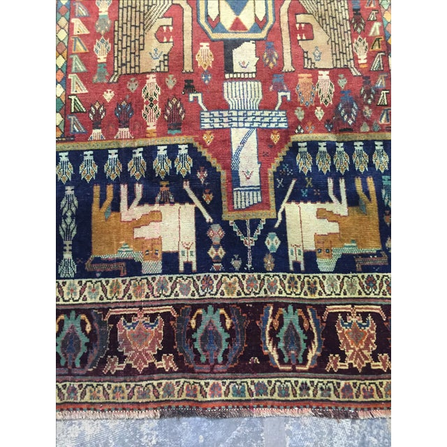 Quashaghi Persian Rug - 5' x 7' - Image 5 of 7