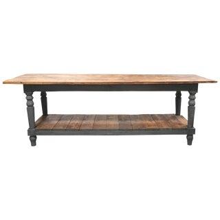 European Farm Table For Sale