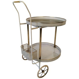 1960s Bar Trolley in the Style of Mategot For Sale