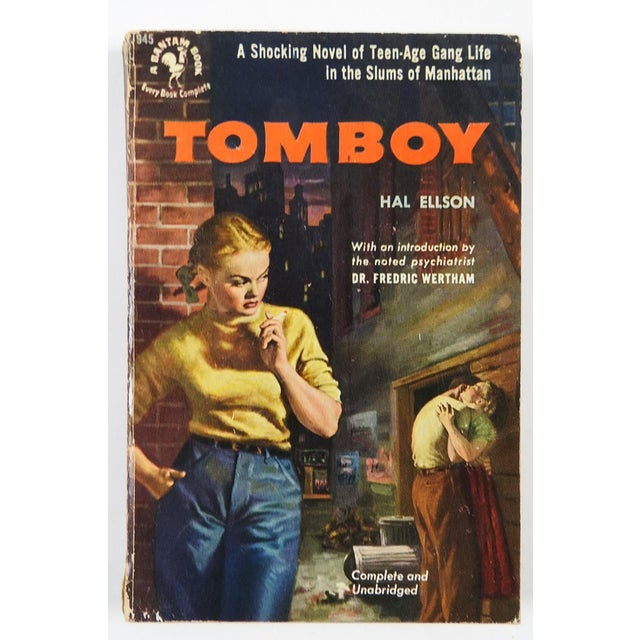"""""""Tomboy"""" Hal Ellson Bantam 1951 Vintage Pulp Paperback Book - Image 2 of 4"""