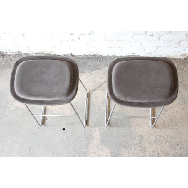 2010s Italian Bar Stools by Cappellini, a Pair For Sale - Image 5 of 9