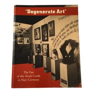 Degenerate Art Avant-Garde in Nazi Germany