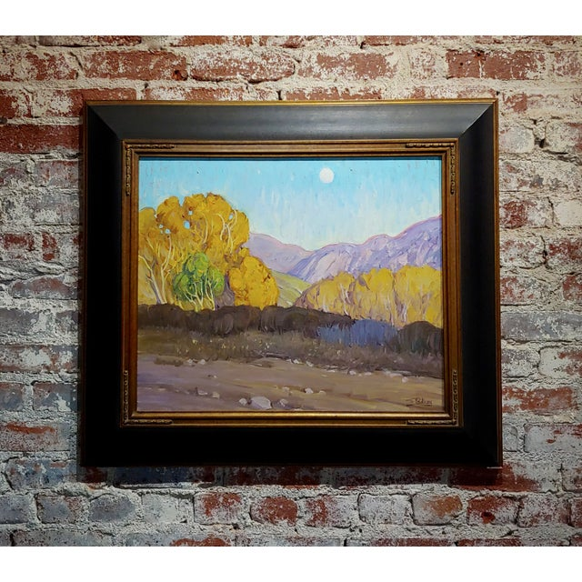 Tim Solliday -Beautiful Fall California Landscape - Oil Painting For Sale - Image 10 of 10