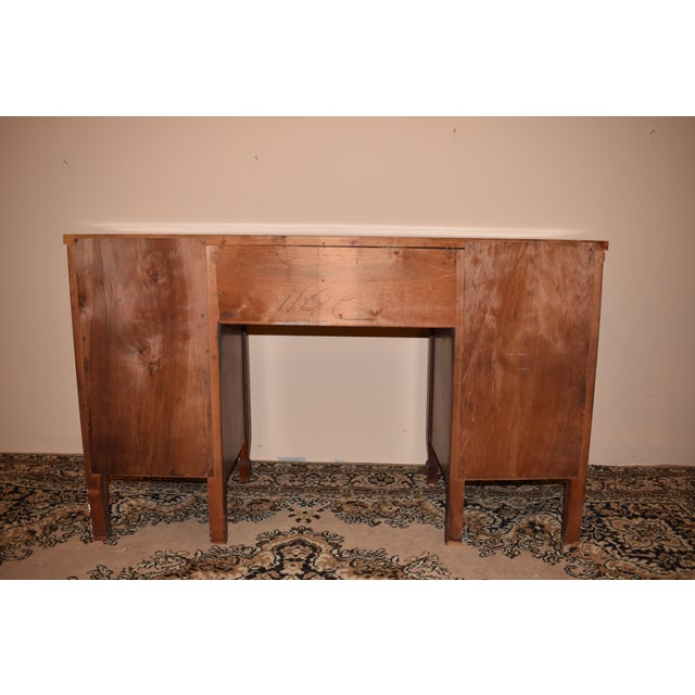 Dixie Furniture Antique Mahogany Desk - Image 6 of 10