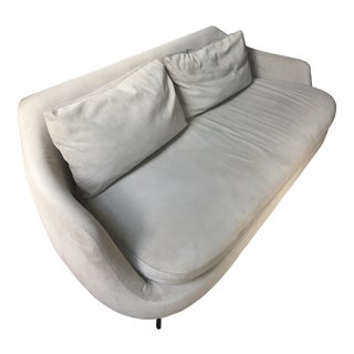West Elm Off-White Sofa For Sale