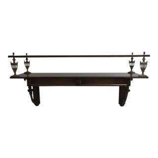 Vintage French Regency Hanging Floating Server Sideboard Bar Console Buffet