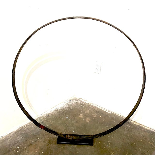 Antique 1850's Amish Wheel on Stand - a Pair For Sale - Image 4 of 12