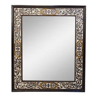 Large Marrakech Rectangular Inlay Mirror For Sale