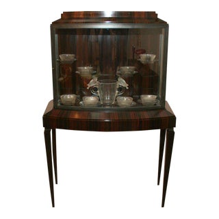 Art Deco Illuminated Vitrine For Sale