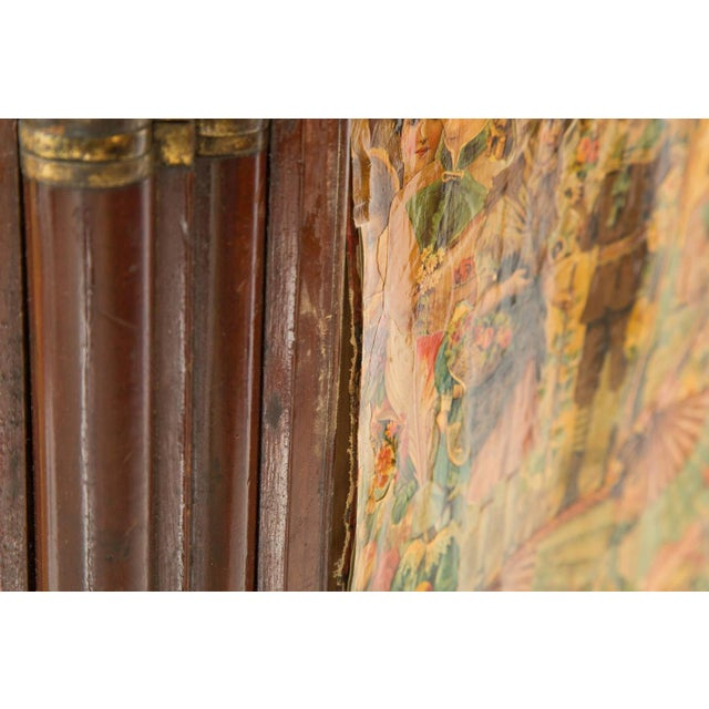 3-Paneled Victorian Decoupaged Room Divider Screen - Image 7 of 7