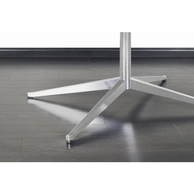 Metal Vintage Executive Desk or Dining Table by Florence Knoll For Sale - Image 7 of 12