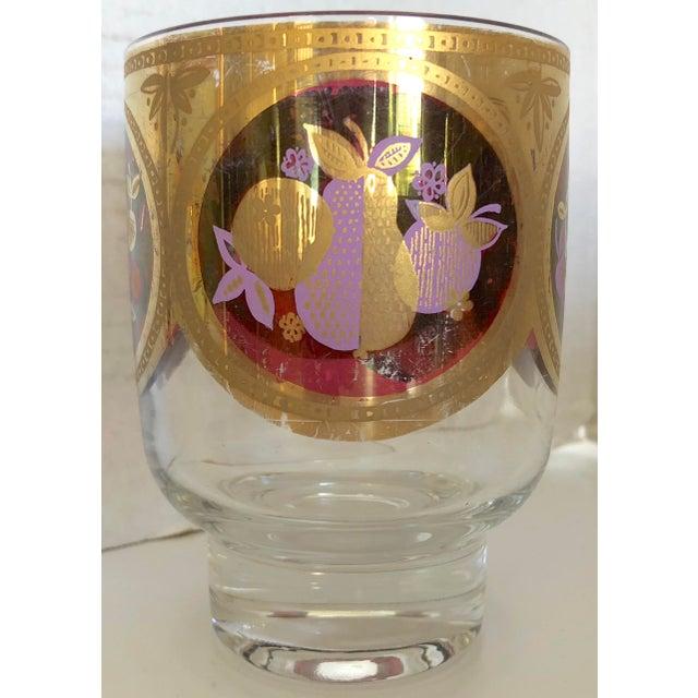 Whiskey Glasses/22 K Gold trim - Set Of 9 - Image 4 of 6